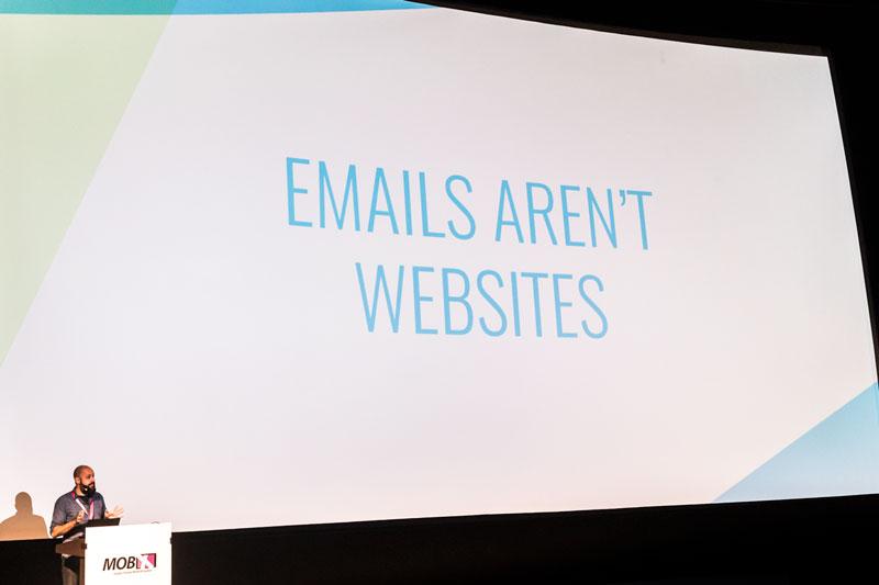 "Fabio Carneiro – Chart ""Emails aren't Websites"""