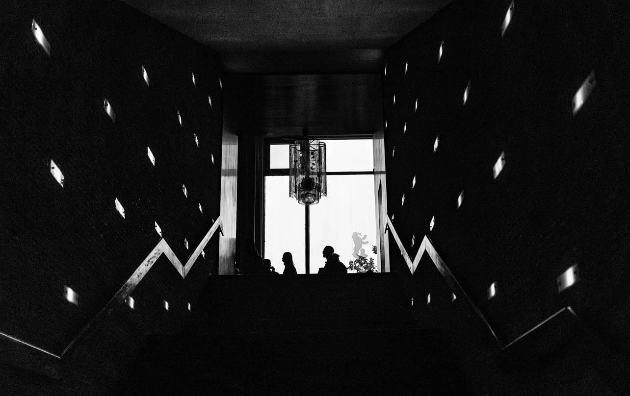 Kino Interational – Treppenaufgang zum Wartesaal