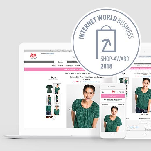 INTERNET WORLD Business Award für Bonprix