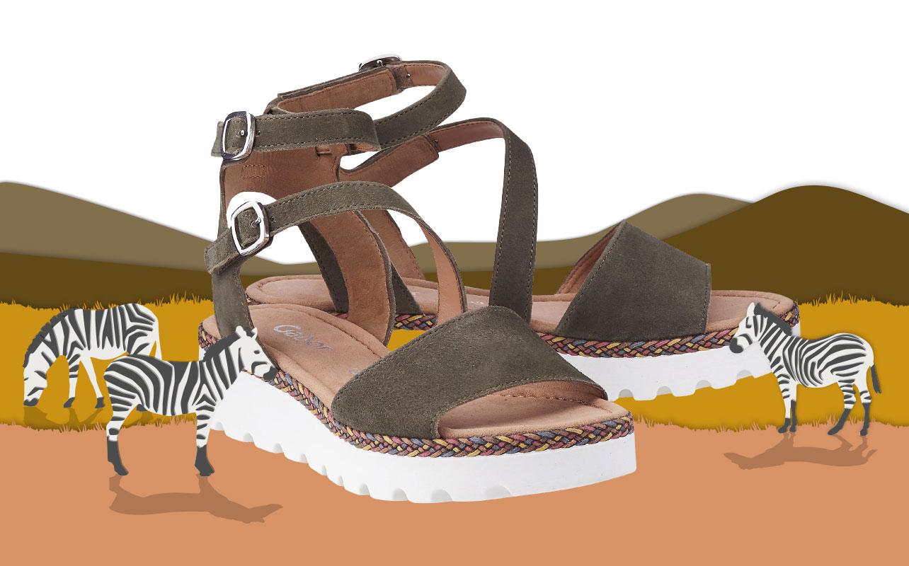 Illustration für einen Animationsfilm zu einem Modetrend des Kunden Görtz