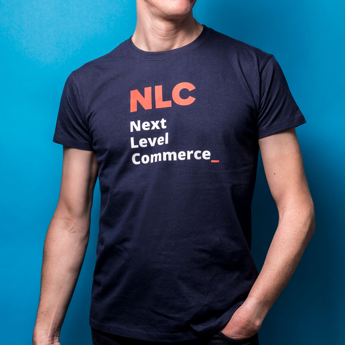 Next Level Commerce T-Shirt Vorderansicht