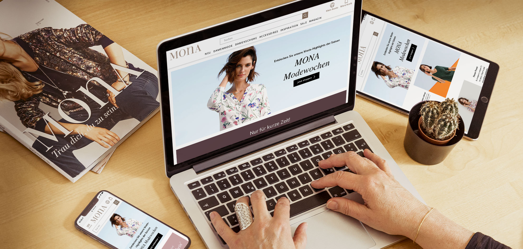MONA Online Shop Relaunch