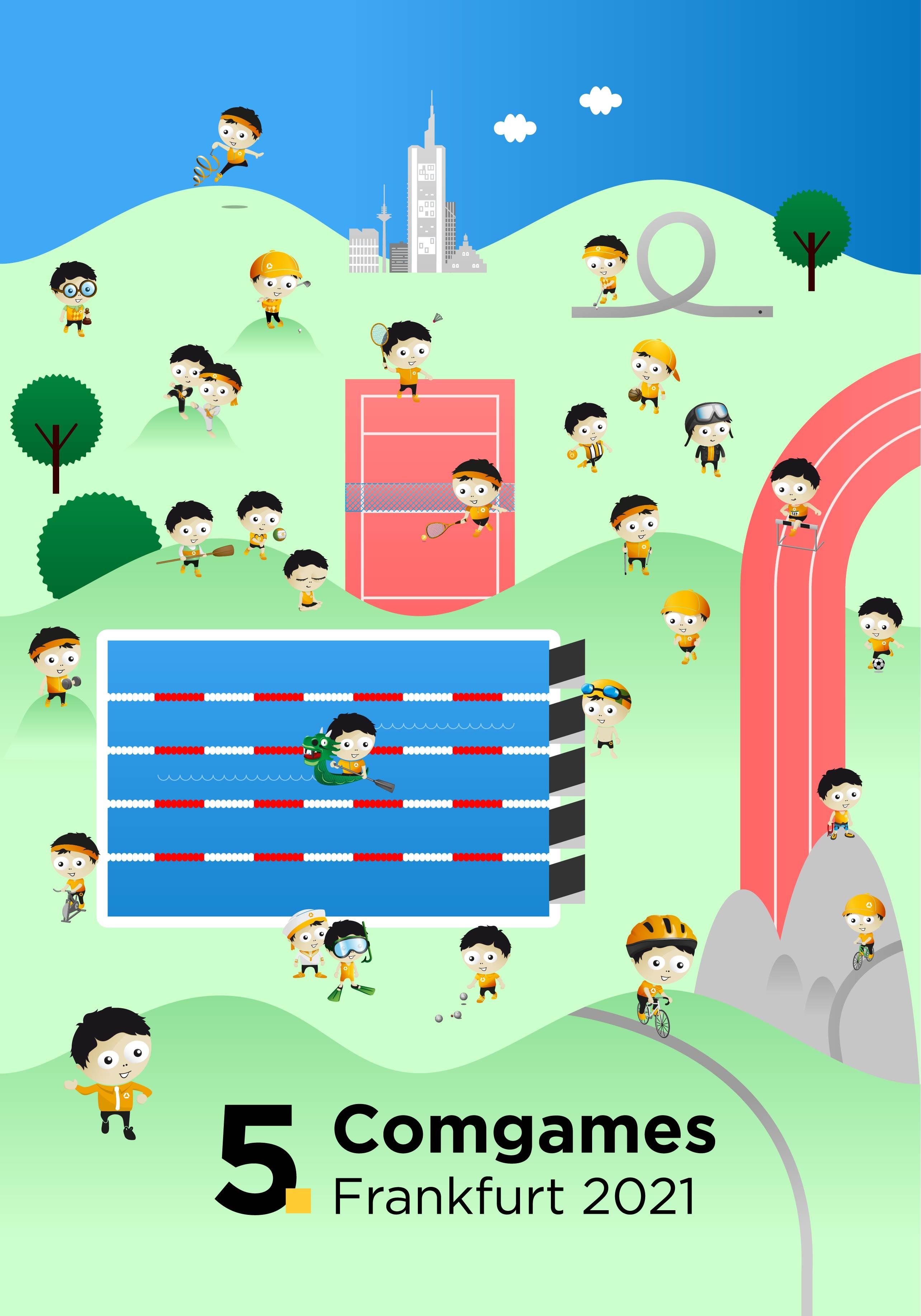 H2D2 Wimmelbild-Poster Comgames 2021