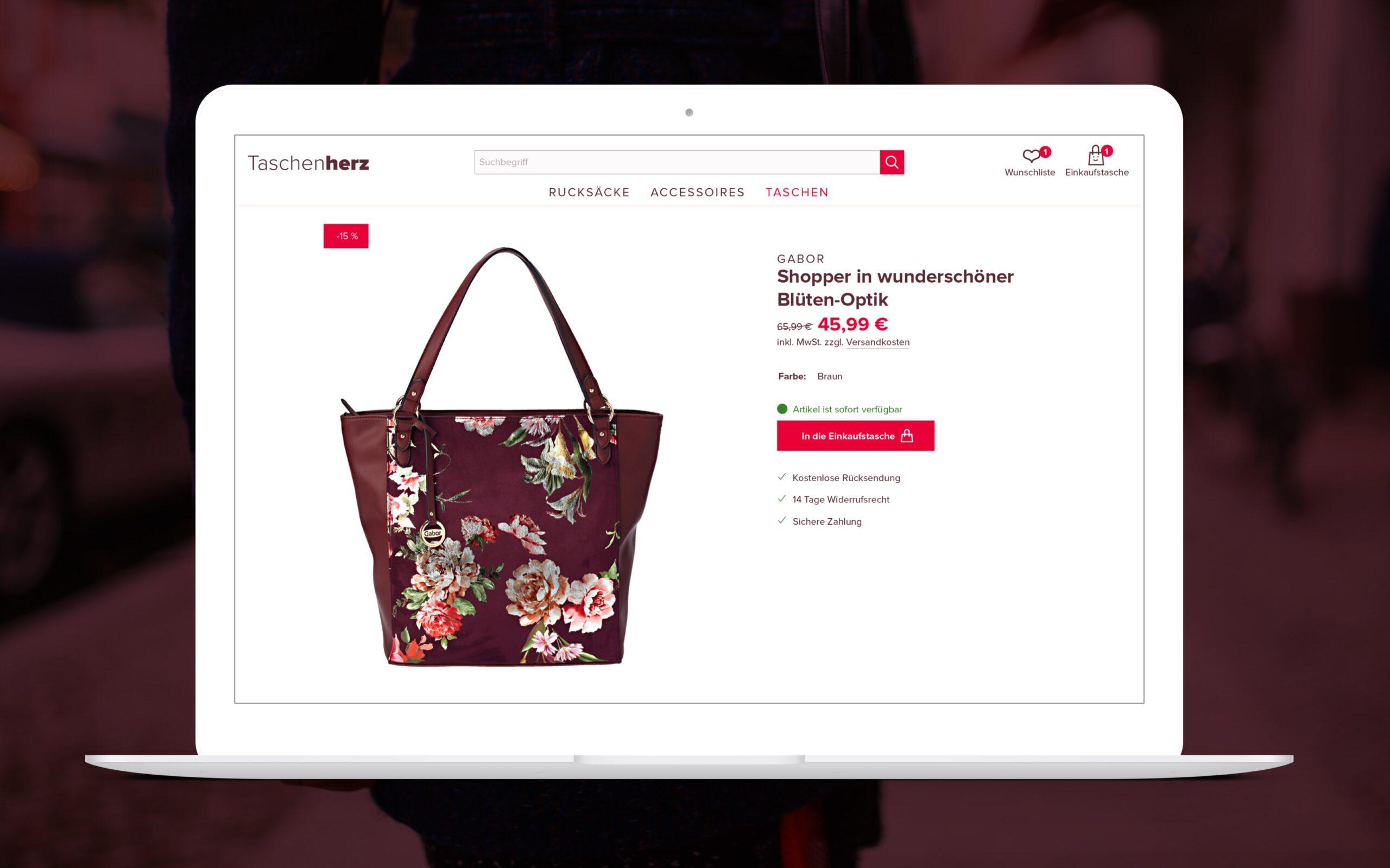 Taschenherz Corporate Design von H2D2