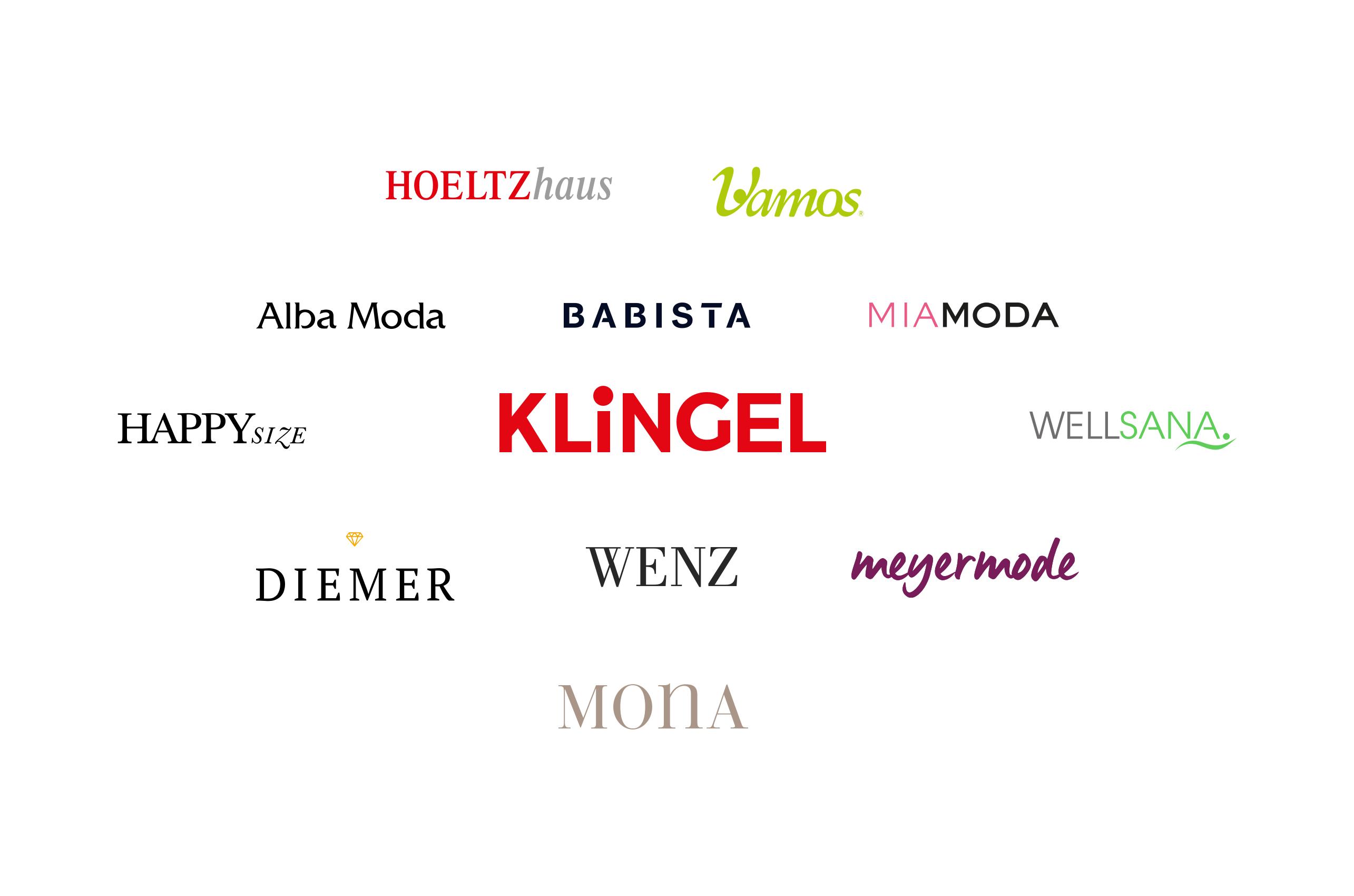 Die Marken der KLiNGEL Gruppe