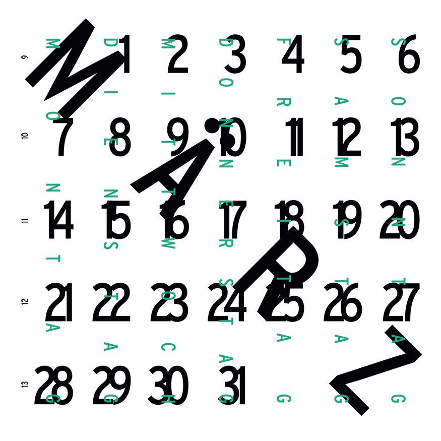 Kalendarium März